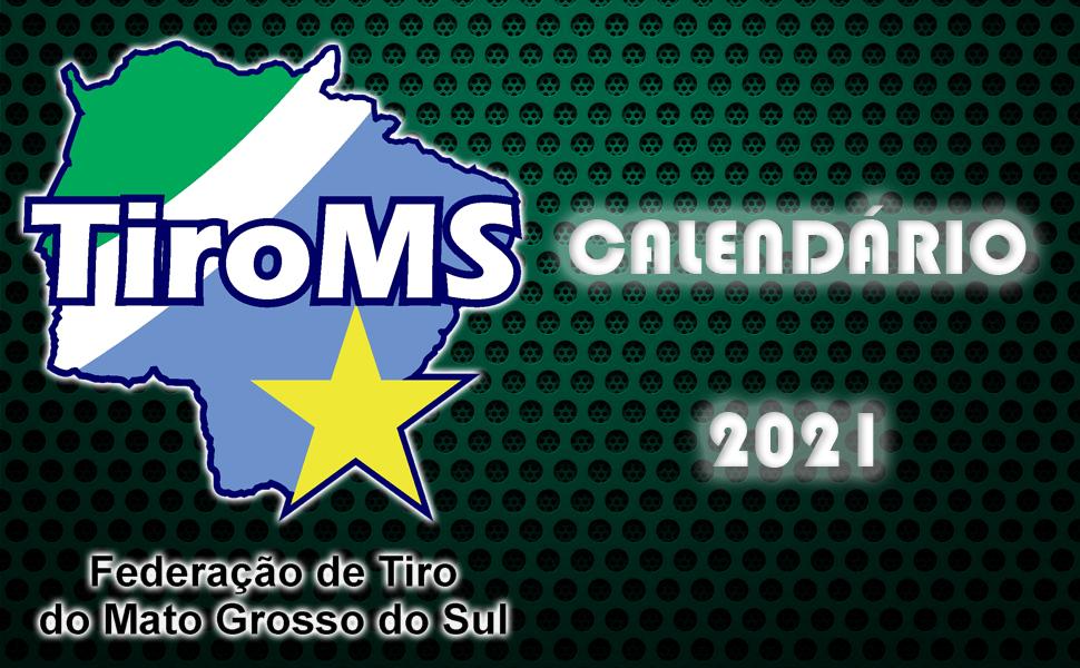 Calendário 2021 TiroMS
